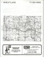 Map Image 006, Kenosha and Racine Counties 1986